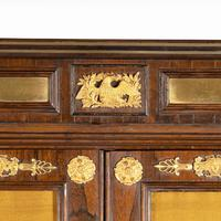 Pair of Regency Brass Inlaid Rosewood Side Cabinets (4 of 17)