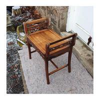 19th Century Chinese Hardwood Window Seat (2 of 7)