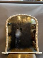 Large 19th Century Painted Overmantle Mirror (10 of 10)