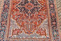 Antique Heriz roomsize carpet 347x246cm (2 of 9)