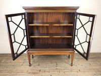 Mahogany Glazed Bookcase or Display Cabinet (5 of 12)