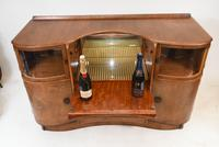 Art Deco Drinks Cabinet Walnut Vintage 1930s (7 of 16)
