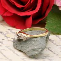 The Vintage Brilliant Cut Foliate Diamond Ring (4 of 5)