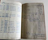 1950's Hand Written  Flying Log Book  with Photographs (2 of 7)