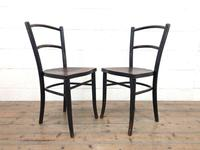 Pair of Early 20th Century Bentwood Chairs (3 of 11)