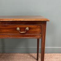 Fine Georgian Mahogany Antique Side Table (3 of 5)