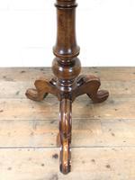 Antique Mahogany Tilt Top Table (5 of 7)