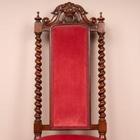 19th Century Walnut Barley Twist Prie Dieu Chair (15 of 15)
