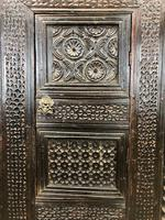 Unusual Antique Carved Side Cupboard (6 of 11)
