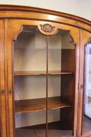 Quality Antique Walnut Display Cabinet (17 of 19)