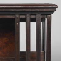 Victorian Rosewood Revolving Bookcase (5 of 8)