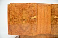 1930's Art Deco Burr Walnut Sideboard by Hille (3 of 12)