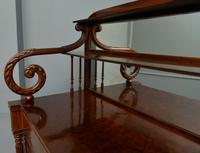 Fine Regency Mahogany Chiffonier Side Cabinet (16 of 18)