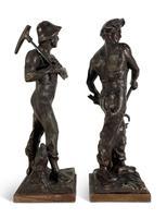 Pair of Spelter Figures (2 of 4)