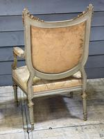 Super Pair of French Upholstered Armchairs (19 of 26)