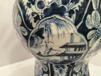 Superb 18th Century Dutch Delft Vase (7 of 10)