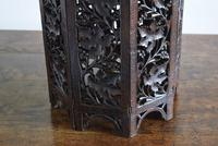 Anglo Indian Carved Table with Octagonal Top (6 of 10)