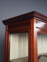 Antique Sheraton Style Inlaid Mahogany Display Cabinet (8 of 18)