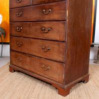 Georgian Chest of Drawers Mahogany Country Tallboy George IV (9 of 11)