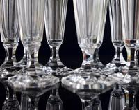 8 Val 8 Saint Lambert Champagne Flutes hexagonal foot (3 of 5)