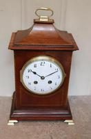 Mahogany Pagoda Style Mantel Clock (2 of 12)