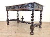 Antique Carved Oak Table (7 of 10)