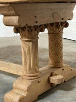 Extremely Rare Large Oak Refectory Table (9 of 35)