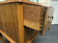 Antique Queen Anne Burr Walnut Dressing Table (12 of 16)