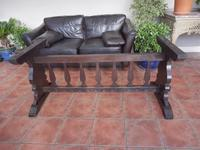 Country Oak Tefectory Table 7 foot long 1880 (7 of 10)