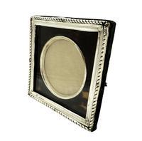 Antique Edwardian Sterling Silver & Tortoiseshell Photo Frame 1905 (4 of 8)