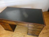 Neat 18th Century Partners Desk (14 of 15)