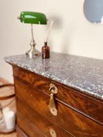 French Antique Drawers / Louis Philippe Commode / Mahogany Chest of Drawers (3 of 7)