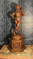 Italian Carved Hardwood Figure of a Boy (23 of 23)