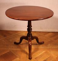 English Tripod Table in Mahogany Early 19th Century (6 of 6)