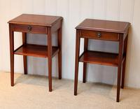 Pair of Edwardian Style Mahogany Tables (3 of 10)