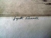 "Gyrth Russell Signed "" Church "" Etching (3 of 3)"