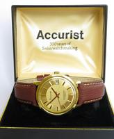 Gents 1970s Accurist Wrist Watch (2 of 5)