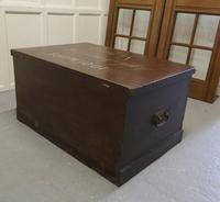 Victorian Painted Masonic Pine Chest (7 of 7)