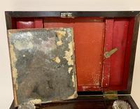 Victorian Rosewood Inlaid Vanity Box (6 of 14)