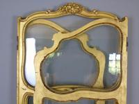 French Gilt Rococo Three Fold Glazed Screen (11 of 11)