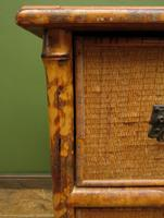 Antique British Colonial Bamboo Chest of Drawers (5 of 16)