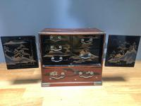 Antique Oriental Lacquered Table Cabinet (9 of 11)