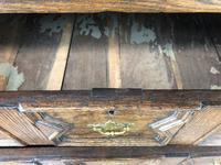 18th Century Antique Oak Chest on Stand (4 of 9)
