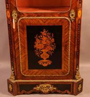 Superb French Display Cabinet Kingwood & Ebony (9 of 12)