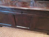 George I Period Oak Six Plank Coffer (10 of 10)