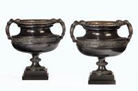 Handsome Pair of 19th Century Bronze Neoclassic Urns (7 of 7)