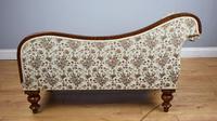 Small Victorian Mahogany Chaise Longue (4 of 8)