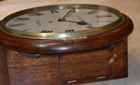 H Clark Bristol Fusee Dial Wall Clock (4 of 4)