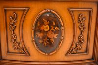 Antique Italian Walnut Display Cabinet (6 of 11)
