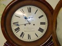 mahogany tavern clock / wall clock (6 of 6)
